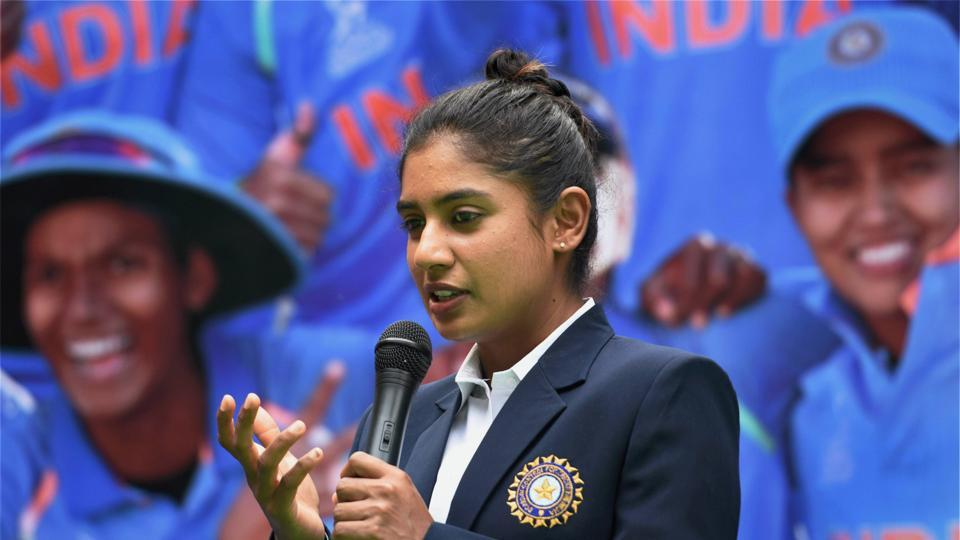 Mithali Raj led the Indian team to the final of the Women's Cricket World Cup in England.