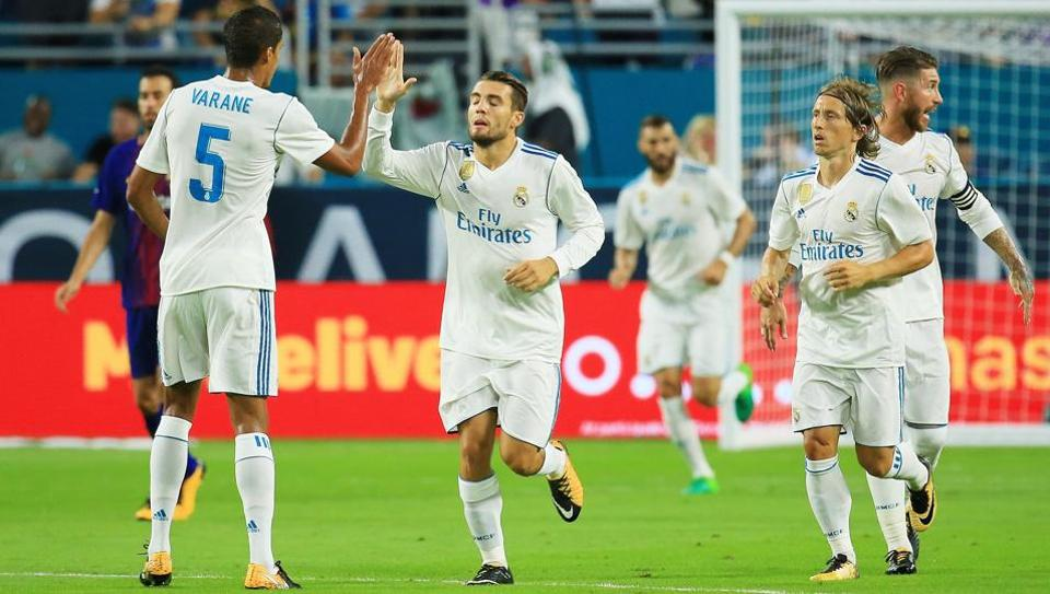Real Madrid will face Major League Soccer All-Star  team as part of their pre-season fixtures.