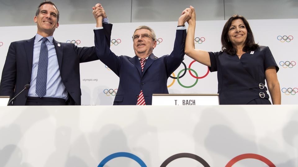 Los Angeles had bid heavily for the 2024 Olympic games but Paris won the right to host the event while the city had to settle for the 2028 Olympics.