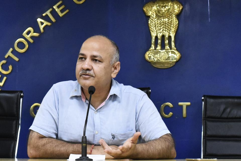 Manish Sisodia gives another chance to students who failed Class X exams