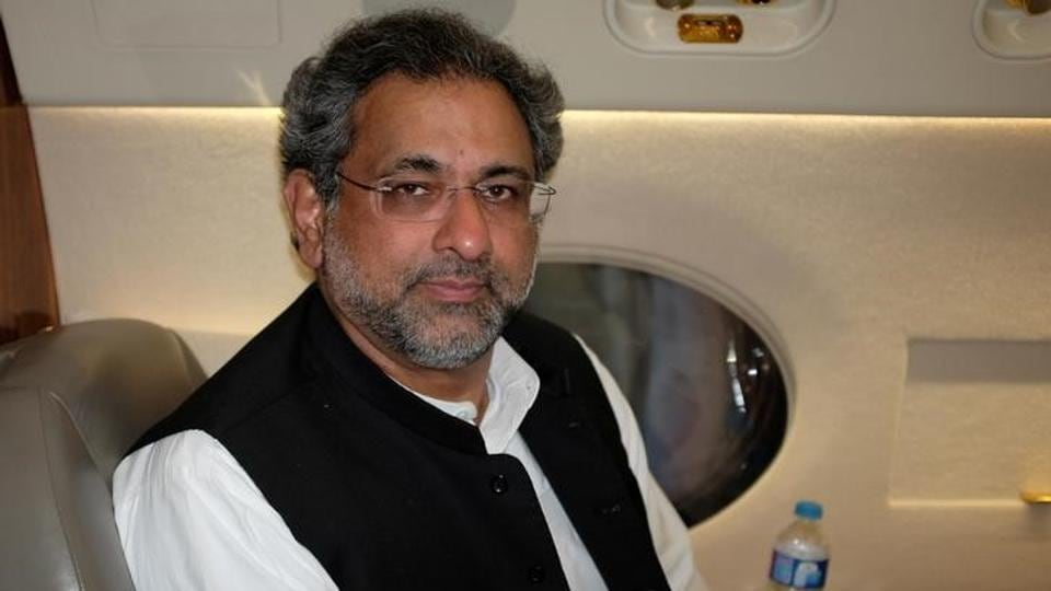 Pakistan's new prime minister Shahid Khaqan Abbasi poses for a photo during an interview in Jhang, Pakistan July 7, 2017.