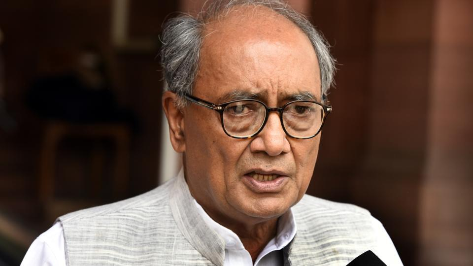 Digvijaya Singh had come under fire for his lacklustre handling of the post-election developments in Goa, where the Congress failed to form the government despite emerging as the single-largest party in the state assembly.