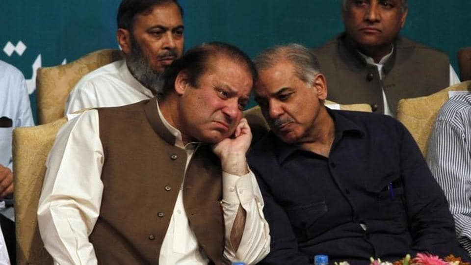 Nawaz Sharif's brother Shehbaz Sharif has been nominated by his party for the parliamentary polls.  (Reuters file photo)