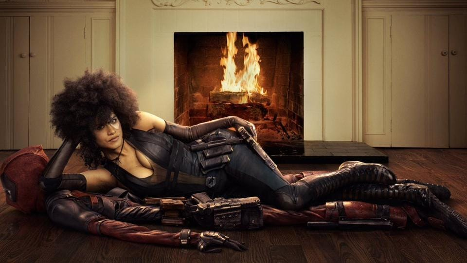 Zazie Beetz in her first look as Domino from Deadpool 2.