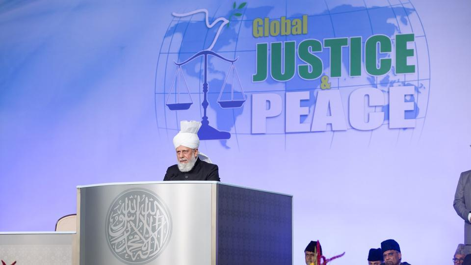 """More than 30,000 members of the Ahmadiyya Muslim Community (AMC) from over 100 countries gathered at the """"Jalsa Salana"""" annual event recently in UK."""