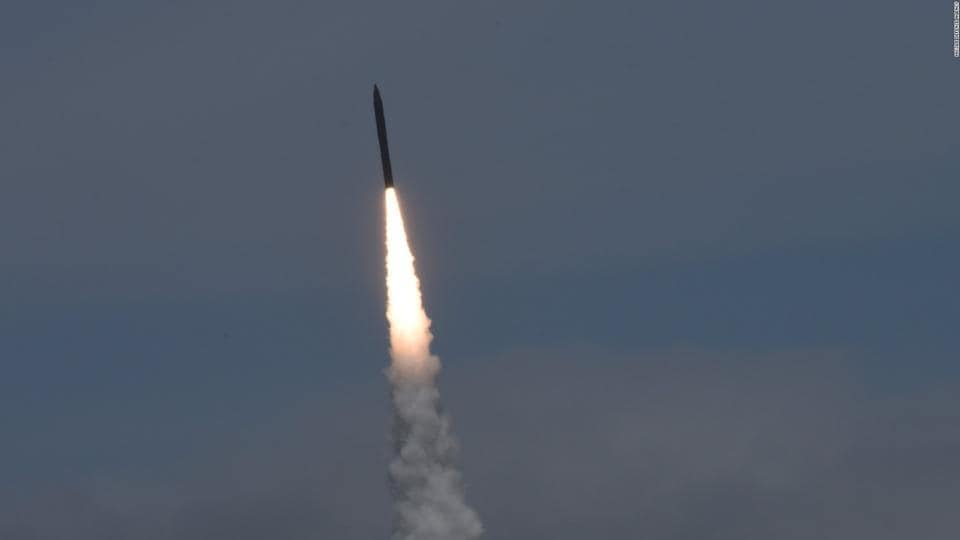 The 30th Space Wing says the Minuteman 3 missile launched at 2:10 a.m. Wednesday from Vandenberg Air Force Base, about 130 miles (209 kilometers) northwest of Los Angeles.