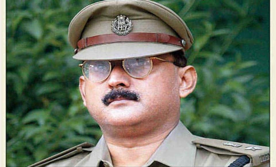 IPS officer Amitabh Kumar Das.