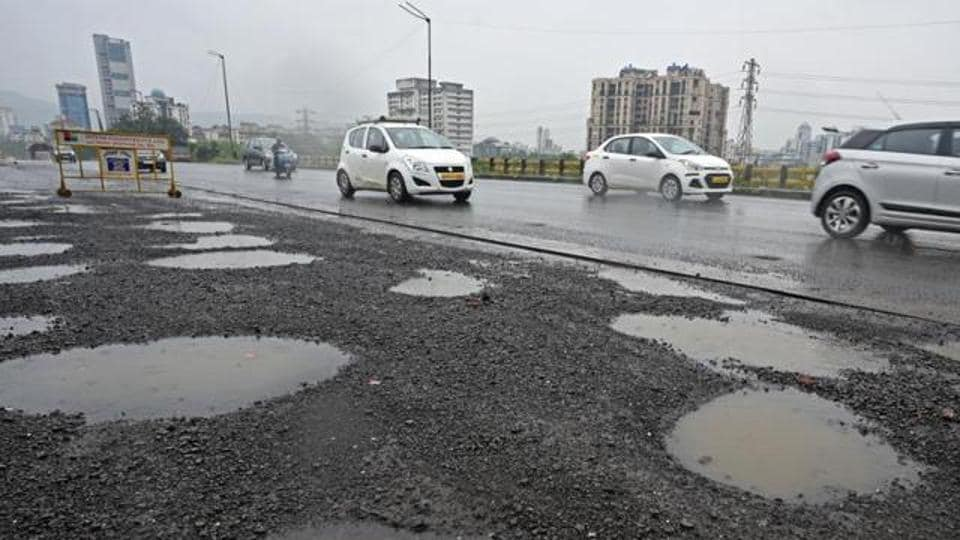 The arterial highway, which links the Mumbai-Pune expressway to the island city, is in a mess owing to a fight between the state and the firm in charge of its maintenance.