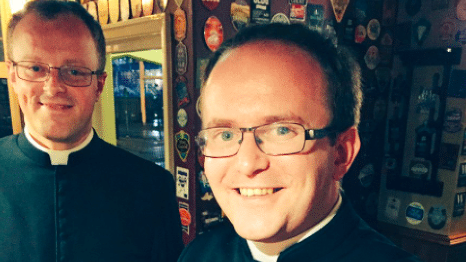 Priests walk into bar,Stag party,Cardiff
