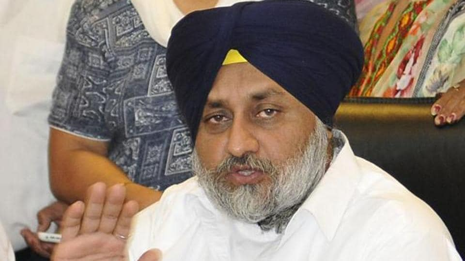 Sukhbir said the Amarinder government had withdrawn all welfare schemes initiated by the previous Parkash Singh Badal government.
