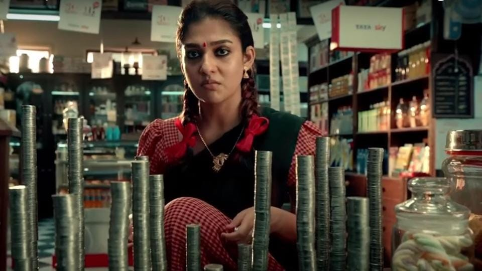 The 50-second Tata Sky advertisement featuring Nayanthara was released in all four South Indian languages -- Tamil, Telugu, Malayalam and Kannada.