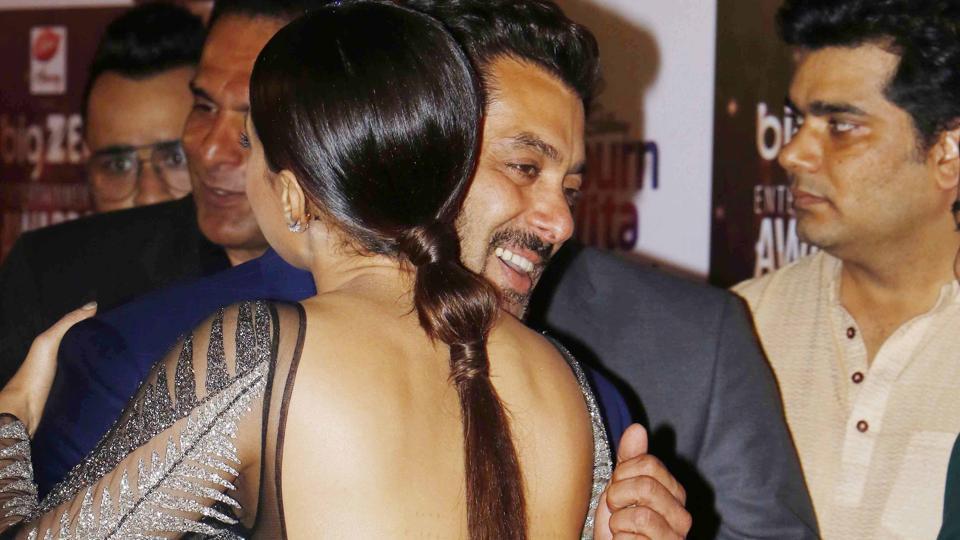 Actor Sana Khan worked with Salman Khan in the 2014 film Jai Ho.
