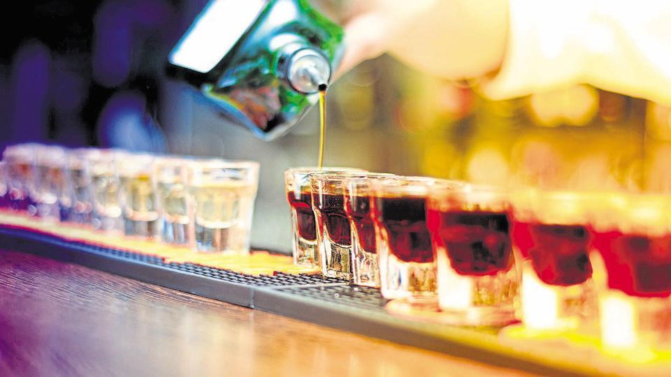 Chinese,Whisky shot,Swiss bar