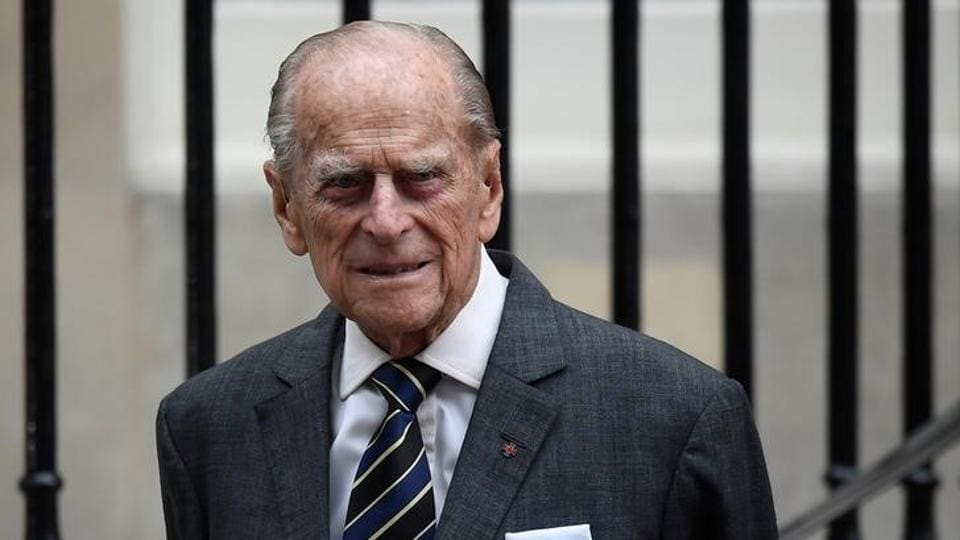 Britain's Prince Philip leaves Canada House in London, Britain July 19, 2017.