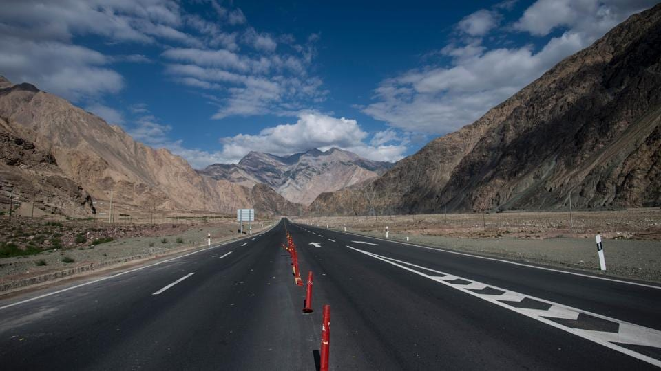 In 2013, Beijing and Islamabad signed agreements worth $46 billion to build transport and energy infrastructure along the corridor, and China has upgraded the treacherous mountain road better known as the Karakoram Highway. (Johannes EISELE / AFP)