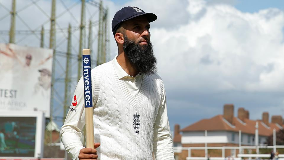 Moeen Ali's hat-trick helped England beat South Africa by 239 runs in the third Test at The Oval.