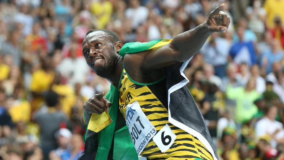 Usain Bolt consumes around 100 chicken nuggets in a day ahead of an important race.