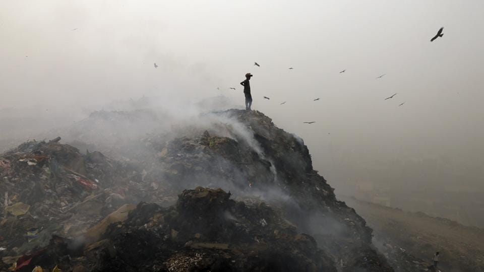 Three main landfills in Delhi have exhausted their capacity and yet garbage is still dumped there as there are no alternatives. The Delhi High Court has ordered the municipal coporations of Delhi to submit plans for management of municipal solid waste.