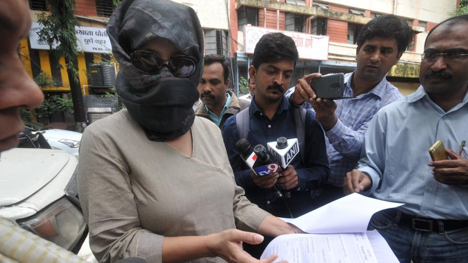 The complainant in the alleged rape case against Rohit Tilak.