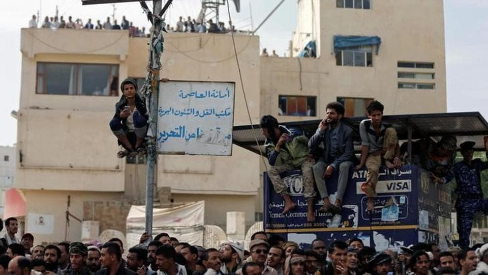 While capital punishments are a legal practice in Yemen, punishment is meted out in the form of public or private shooting, with measures for death by stoning, beheading and hanging also existing within the Yemeni penal system which abides by the Sharia code. Yemen has one of the highest execution rates in the entire would. (Khaled Abdullah / REUTERS)