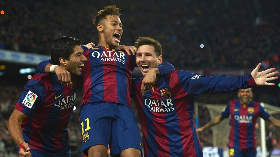 Neymar took to Lionel Messi's Instagram post to thank him, stating that he will miss him.