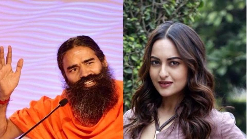 Ramdev and Sonakshi Sinha will judge the show on bhajans.