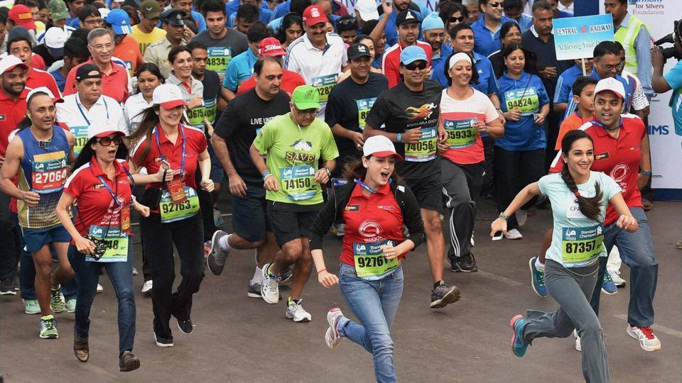 Mumbai Marathon,Standard Chartered,tata mumbai marathon