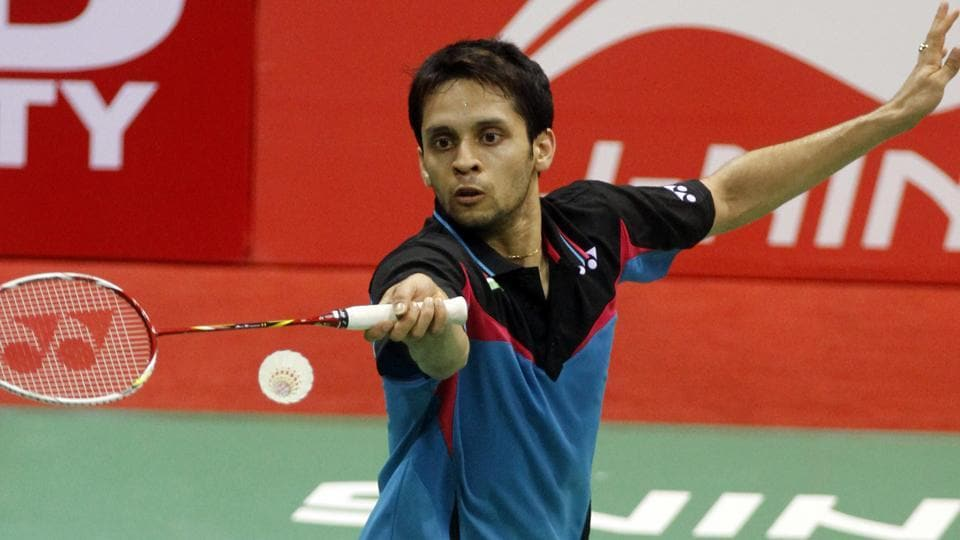 Parupalli Kashyap defeated Oscar Guo to reach New Zealand Open badminton 3rd round.