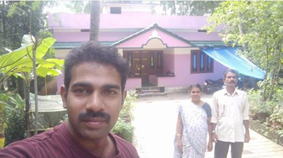 Ranjish Manjeri, a 34-year-old photographer from Manjeri in Malappuram district, posted a matrimony ad on Facebook and it went viral within days. (Ranjish Manjeri/Facebook)