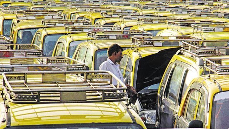 Mumbai has around 45,000 black and yellow taxis.