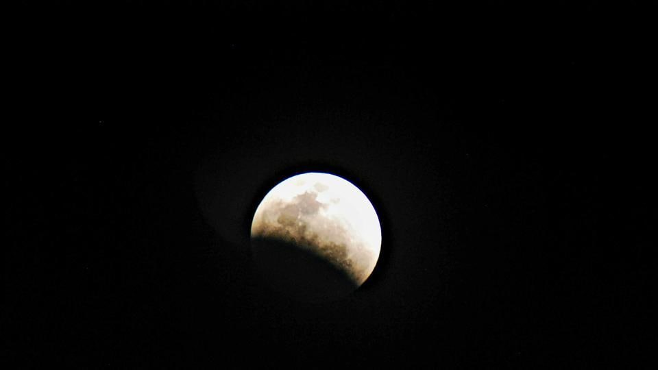 The Nehru Planetarium in New Delhi will be setting up telescopes to help visitors observe the Moon before the eclipse and the partial phases of the eclipse, at the Teen Murti lawns from 9 pm on Monday night.