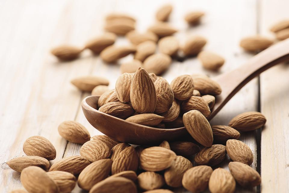 Almonds are good for your heart, help in weight reduction and fill you with energy.