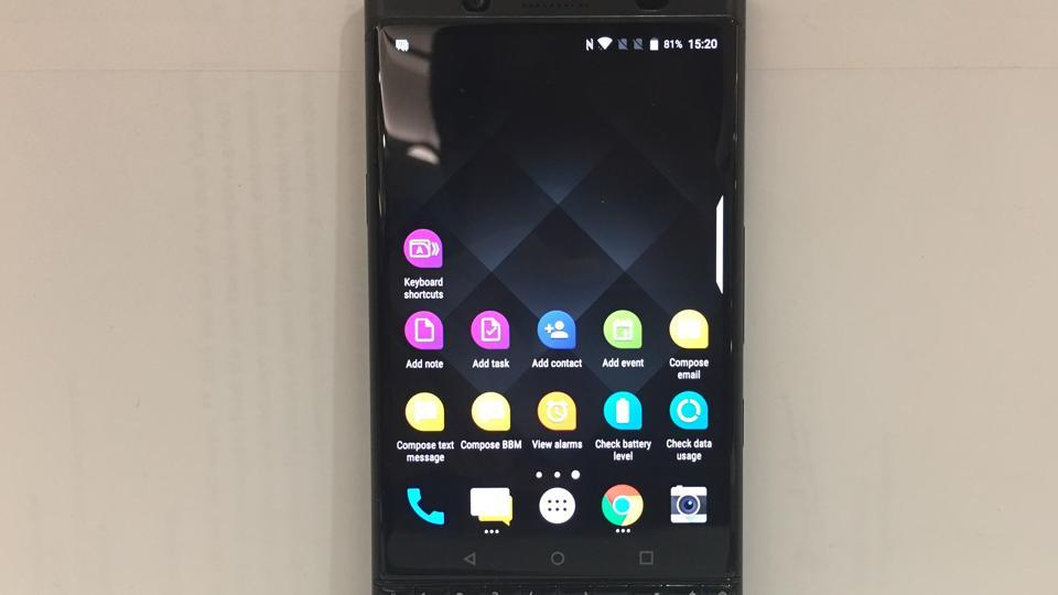 BlackBerry KEYOne first impressions: For the BlackBerry