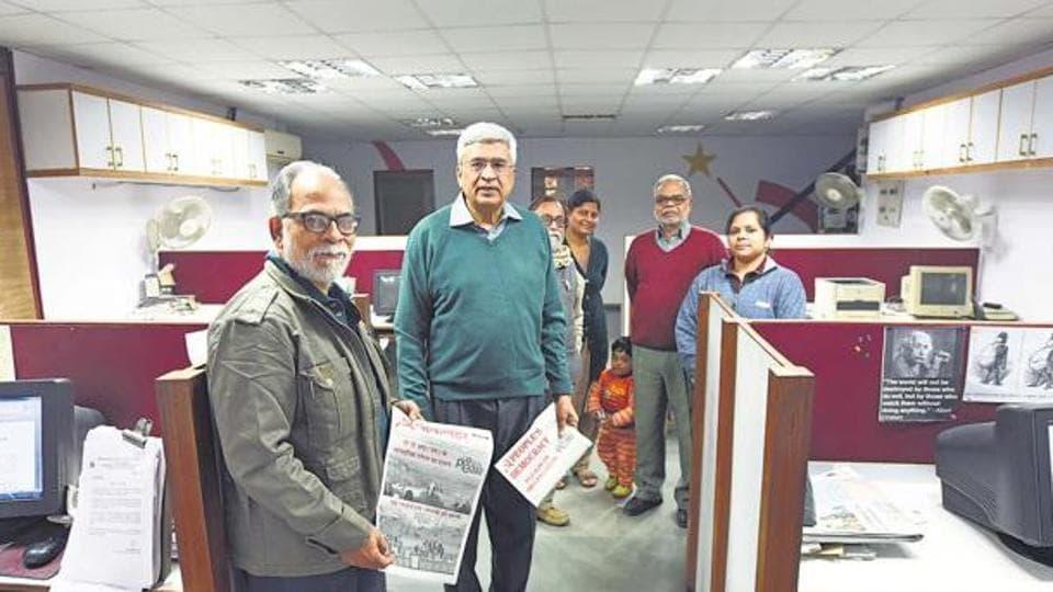 Former CPI(M) general secretary Prakash Karat is editor of party mouthpiece People's Democracy.