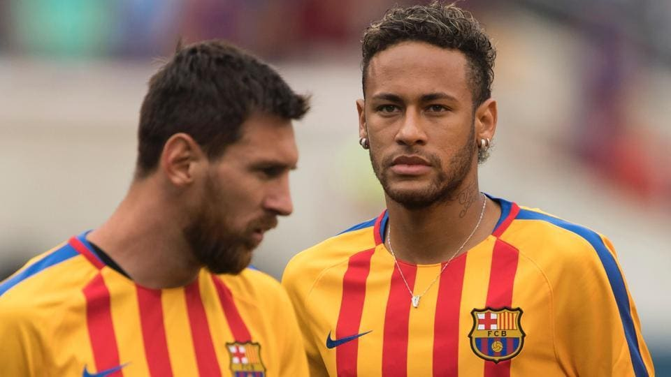 Neymar is likely to leave the starred partnership with Lionel Messi and Luis Suarez at FCBarcelona for Paris Saint-Germain.