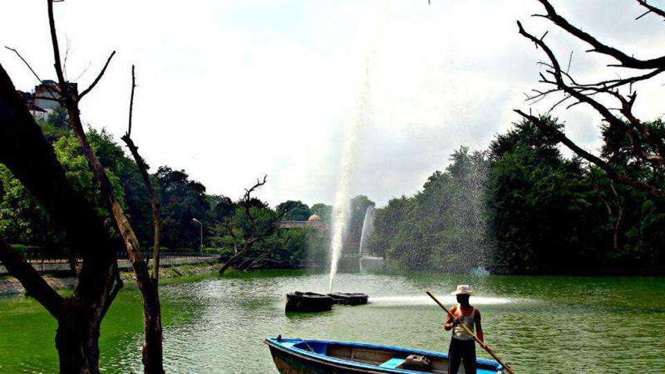 HAuz Khas lake,Hauz khas,delhi lake