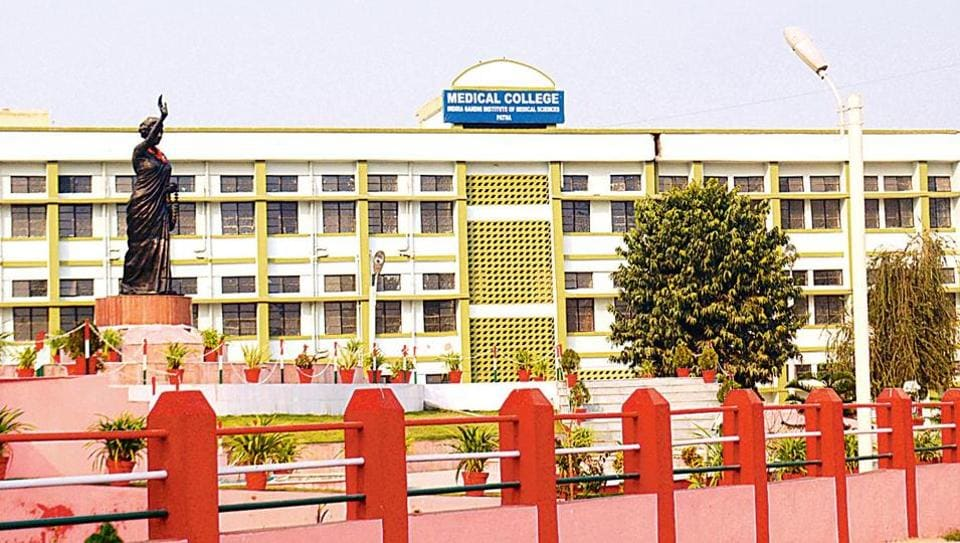 The Indira Gandhi Institute of Medical Sciences in Patna.