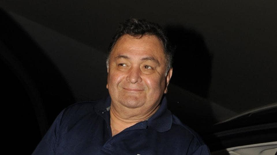 Rishi Kapoor attends the screening of Jagga Jasoos in Mumbai.