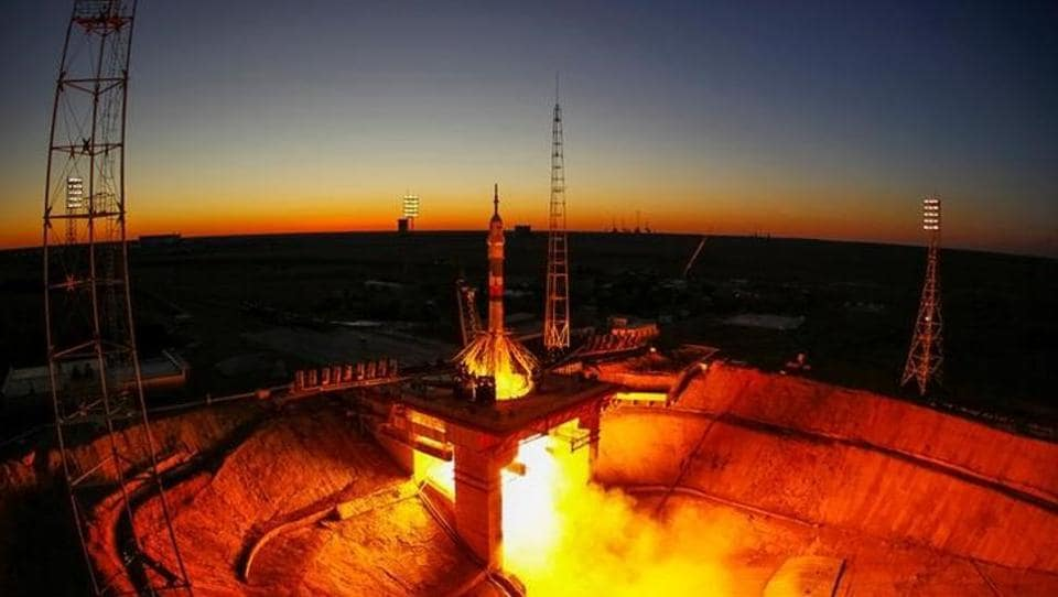 Originally commissioned by the USSR in 1995, Scientific Research Test Range No. 5 which later came to be known as the Baikonur Cosmodrome is the world's oldest launch facility for spacecraft and ICBMmissile testing. The site of several historic launch events in the 20th century's race to space, Baikonur played host to a unique launch less than a fortnight ago which occurred at the cusp of day and night.  (Shamil Zhumatov / REUTERS)