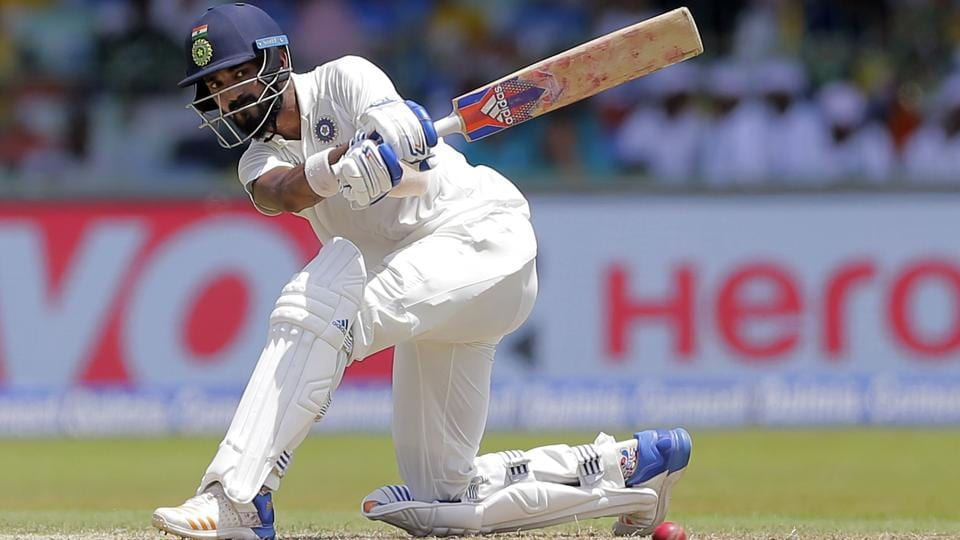 KL Rahul, who returned to the side in place of Abhinav Mukund, scored a well-crafted fifty before being dismissed.  (AP)
