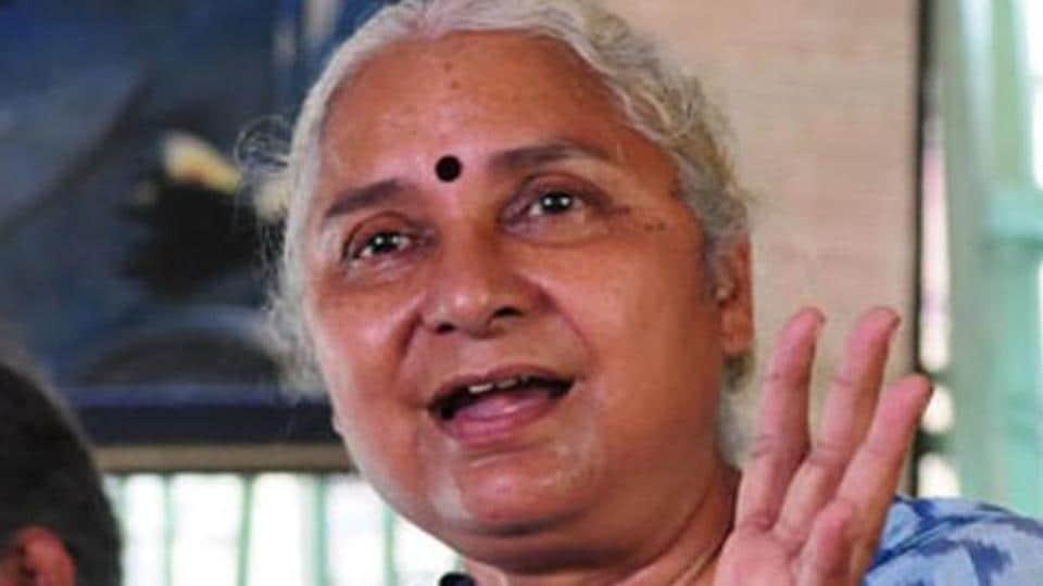 Narmada Bachao Andolan leader Medha Patkar.