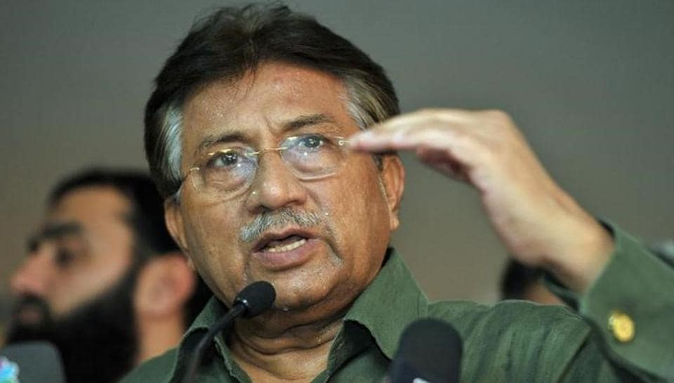 Pakistan's former President Pervez Musharraf speaks during a news conference in Dubai, March 23, 2013.