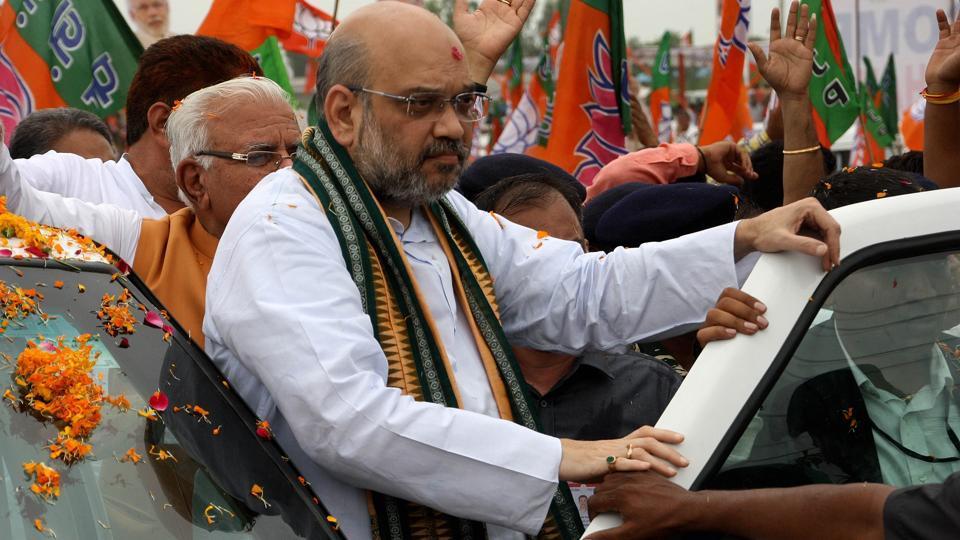 Ahmed Patel,Amit Shah,Gujarat