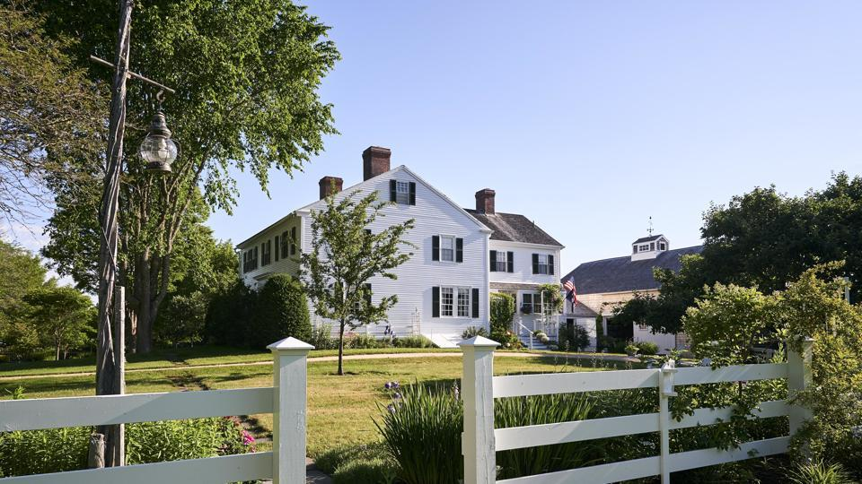 The oceanfront home where EB White lived when he penned Charlotte's Web.