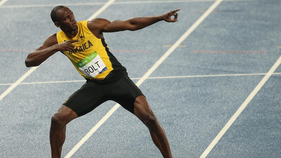 Usain Bolt has won eight gold medals at the Olympic Games.