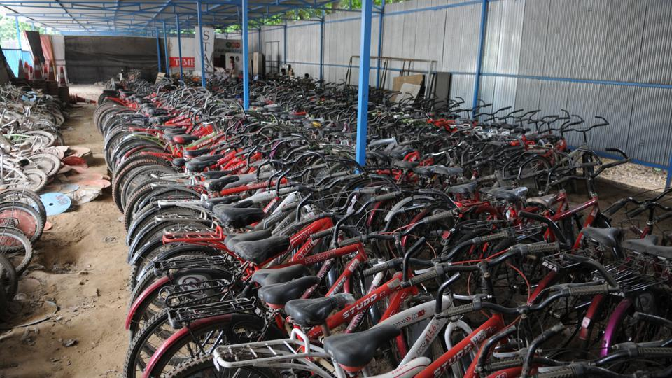 The MCG has claimed that a few of the cycles were given to the Haryana fire services and these are currently kept at the fire station headquarters in Sector 29, Gurgaon.