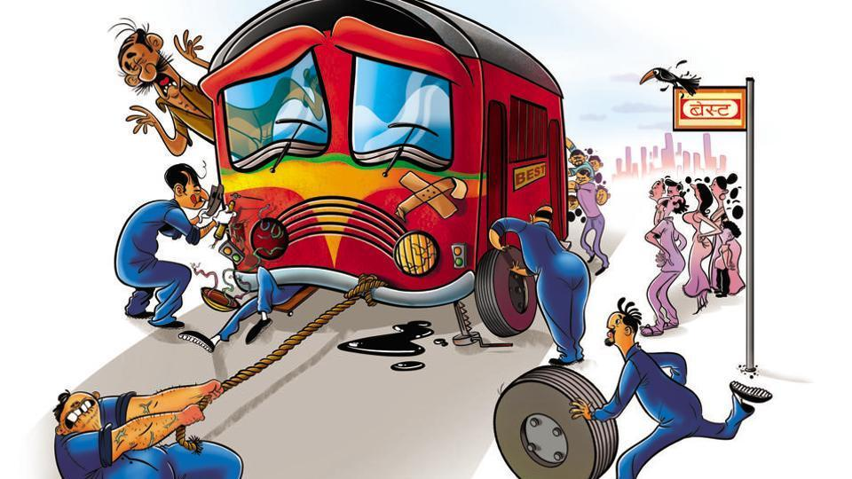 Experts said promoting public transport like BEST will also help reduce traffic congestion