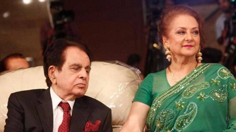 Dilip Kumar and Saira Banu.