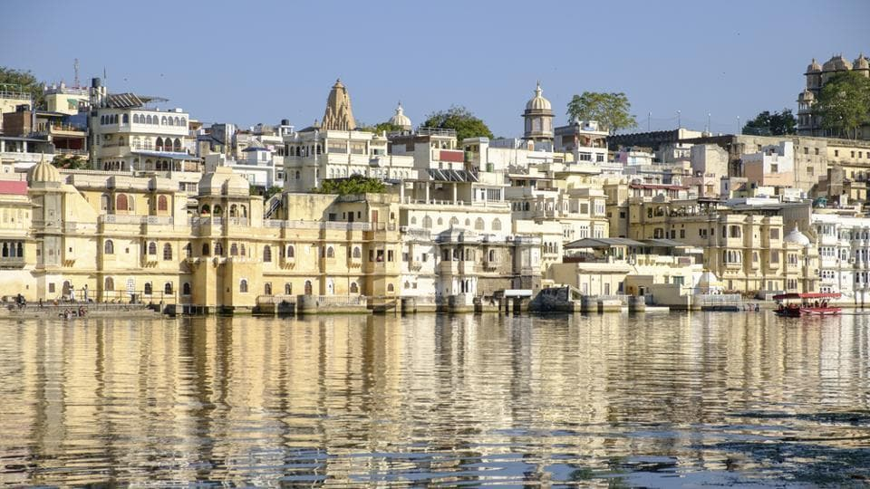 Visit Udaipur's lakes and try some pre-natal treatments to relax the body.