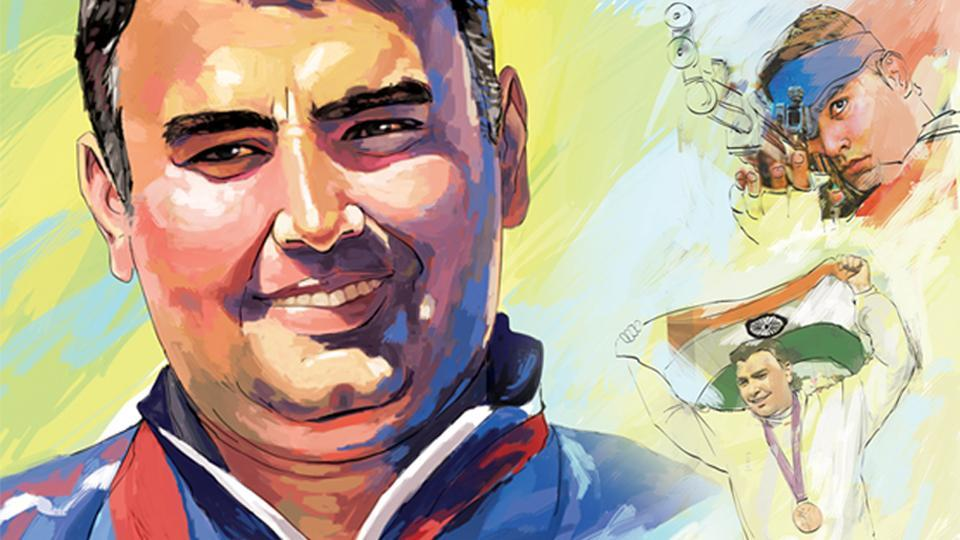 Gagan Narang,Indian shooting,Indian athletics